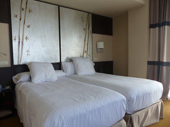 ฮูซาปาเซโอเดลอาร์เตโฮเต็ล: very comfortable beds