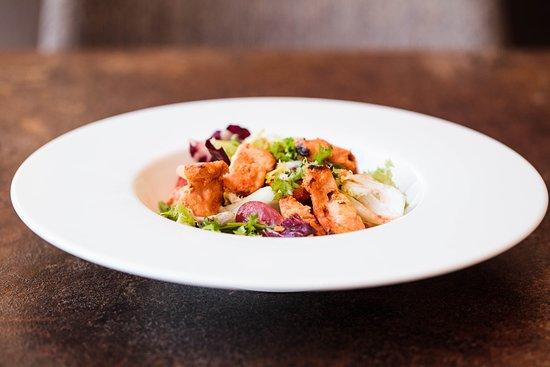 Lagan Indian Tapas: salad