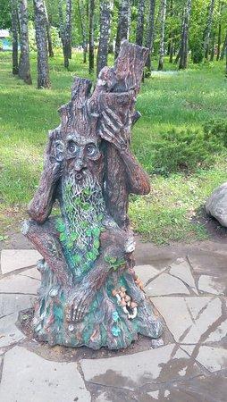 P. Belousov Central Park of Culture and Recreation: Про фигурки в парке я писала, их много