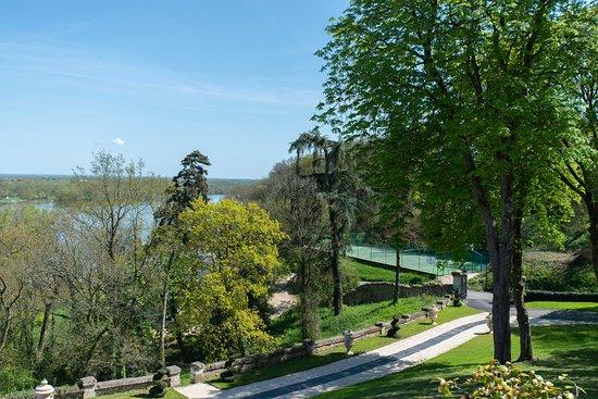 Chateau Le Prieure: Terrain de tennis et basket