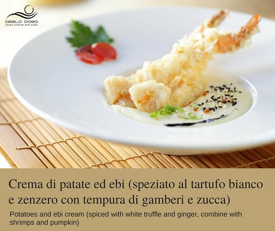 Perla d'oro Milano - Via Vigevano: Crema di patate ed ebi