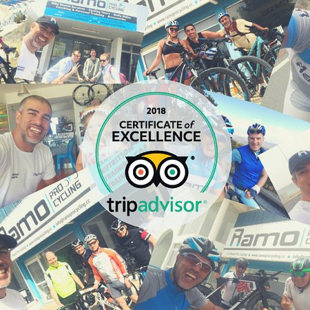 Ramo Pro Cycling 2018 Certificate of Excellence!