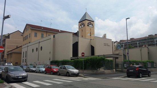 Parrocchia Santa Monica: Esterno chiesa