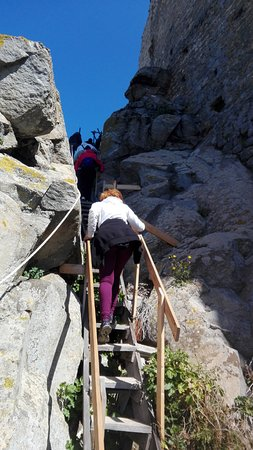 Siliqua, Italien: La parte finale dell'ascesa