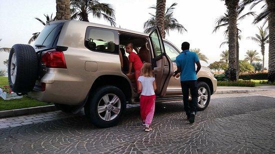 Dubai Private Adventure: Your personal car