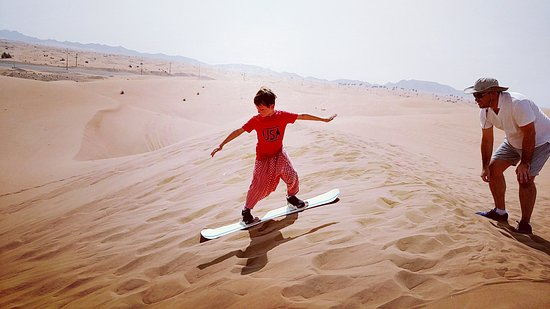 Dubai Private Adventure: Even an 8 year old can do it