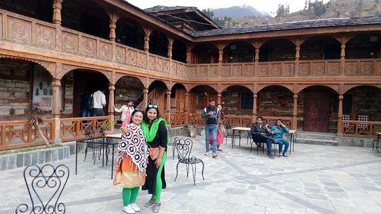 Inside Naggar Castle