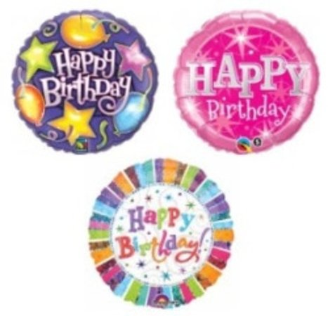 Examples of Balloons available from Isan Flowers