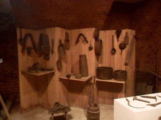 Museo Civico Etnografico del Pinerolese : Interno Museo