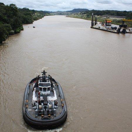 巴拿马运河照片