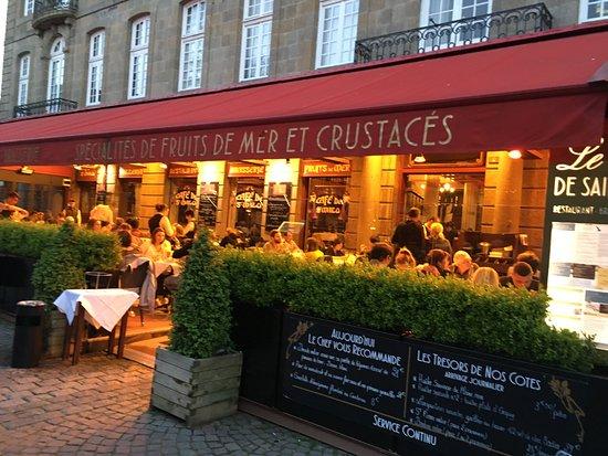 Le Cafe de Saint Malo: Restaurant frontage