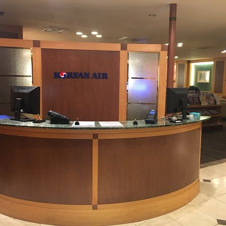 Korean Air Lounge ภาพถ่าย