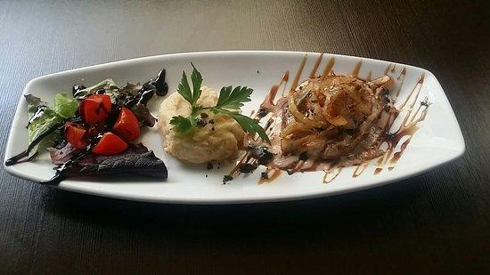 Bar Gaggia: Pizza de pollo sin gluten