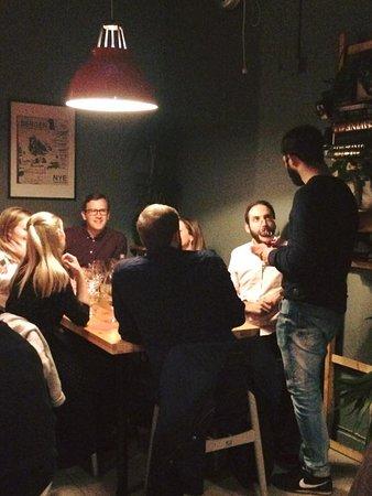 Vågal kaffe- og vin: Evening mood