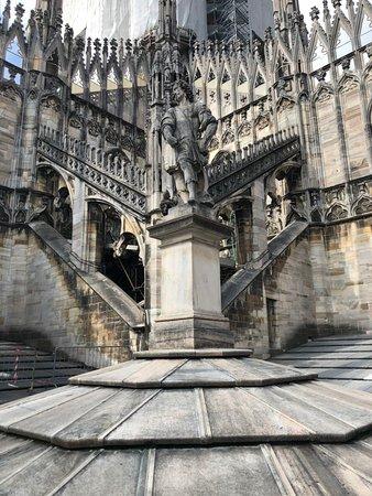 Dôme de Milan : Крыша собора