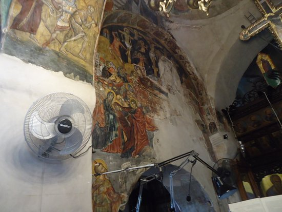 Agia Paraskevi Church: Some frescoes from 9th century