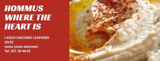 Hommus Snack Libanese: HOMMUS COMO