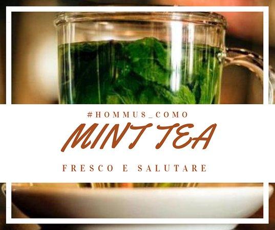 Hommus Snack Libanese: MINT TEA