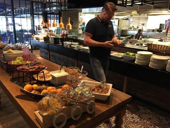 Nurmes, Finland: Aamiaispöytä