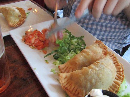 Brickhouse Food & Drink: Chicken Empinadas