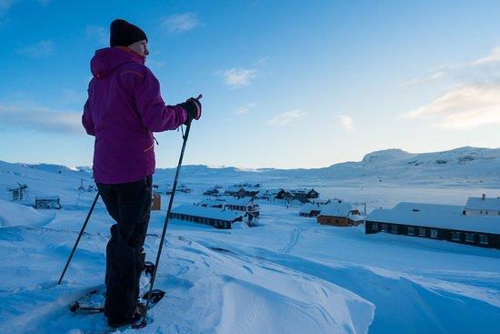 Finse, Norge: Snowshoing  (Foto: Bård Basberg)