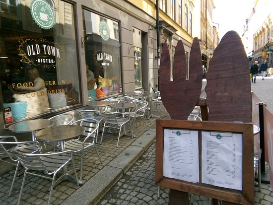 Old Town Bistro: вид снаружи
