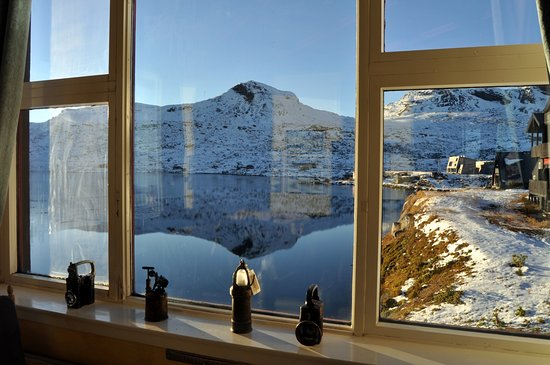 Finse, Norge: View from window (Foto: Sebastian Arrighi)