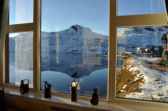 Finse, Norway: View from window (Foto: Sebastian Arrighi)