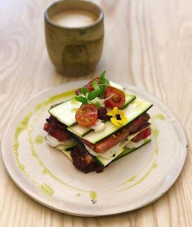 Essence Cuisine: Matthew Kenney Classic: Heirloom Tomato Lasagna