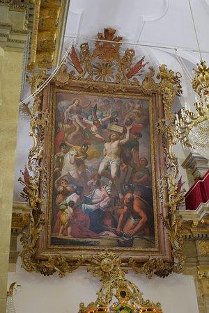 Ferla, Italy: Il quadro risale al 1789, realizzato dal palermitano Giuseppe Crestadoro