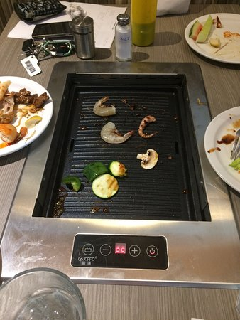 Asian King BBQ Buffet & Take Out: Korean Tabletop BBQ