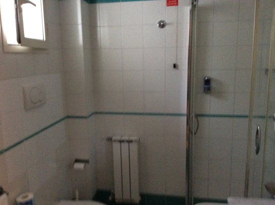Alpha Hotel : Shower Room