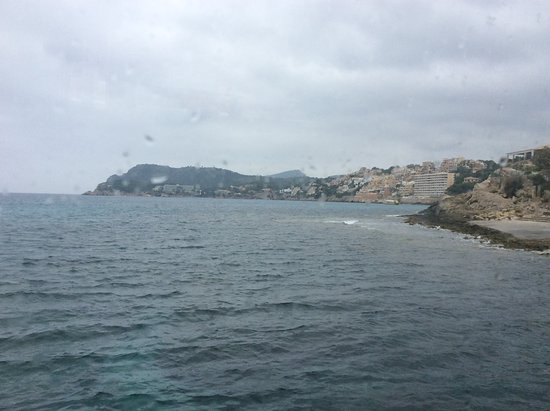 Day at sea with Lunch : Côte vue du bateau