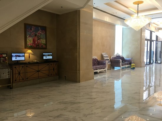 Ramada Wyndham Hong Kong Grand View: 華大海景酒店(北角麗東軒酒店)大廳一隅