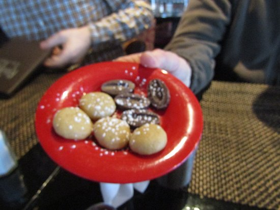 Irvington, NY: Little Cookies For Us All For Dessert they Bring