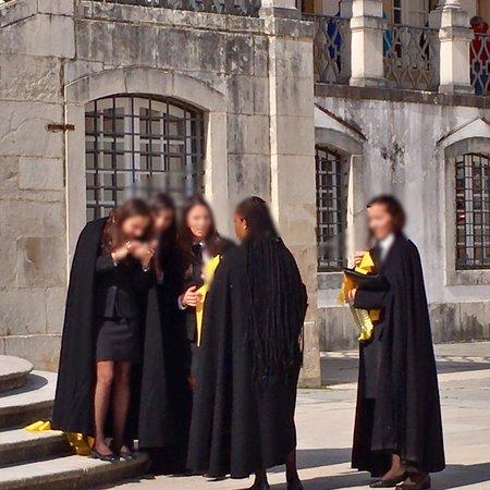 Torre da Universidade de Coimbra照片