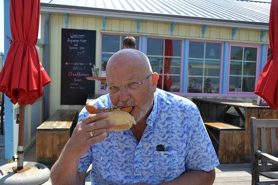 Oosterend, هولندا: Hottest hotdog
