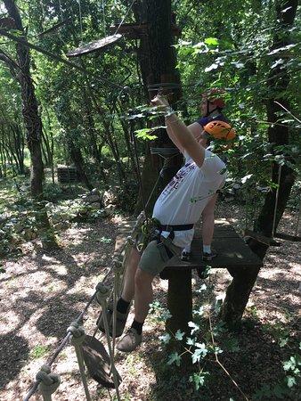 Adventure Park Cadmos Village: starting off on level 1