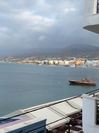Cosmopolis Crete Suites: View from the balcony