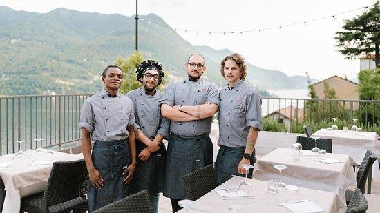 Carate Urio, Italie : La cucina.