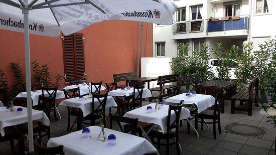 Ristorante Torrese : Ein eindruck von die Terrasse