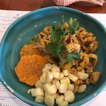 Ceviche Seafood Kitchen: Comida deliciosa