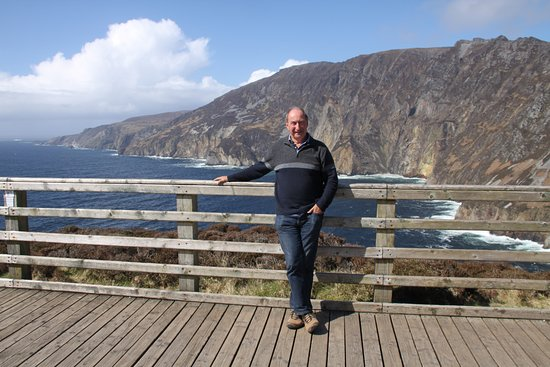 Carrick, Ireland: The Cliffs and me