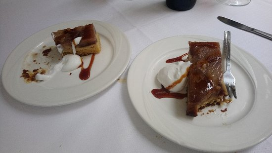 Restaurante Vienes: Pear cake