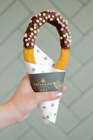 Patagonia Schokoland: churro loop.