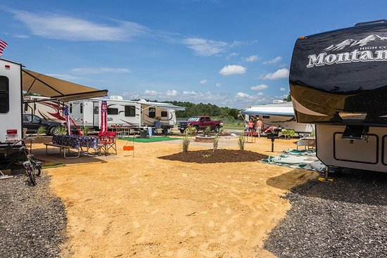 Gloucester Point, VA: Picture of the quad camping site