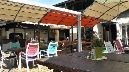 Schwendt, Austria: Terrasse
