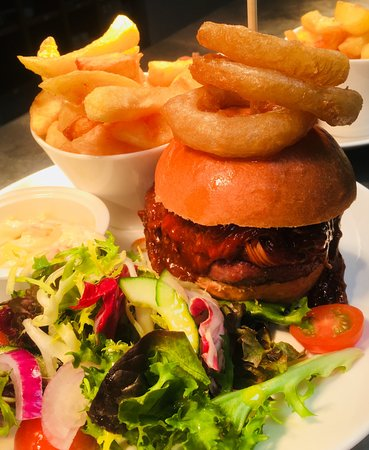 Dean's Garden Centre & Coffee Shop : BBQ Pulled Pork Burger - subject to availability on our specials board