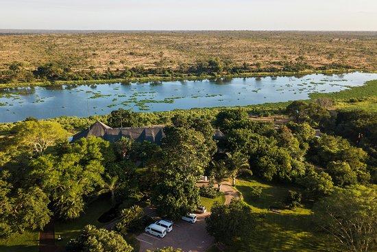 Buhala Lodge: Aerial view