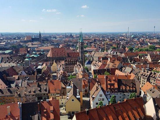 Sinwellturm: View from tower...